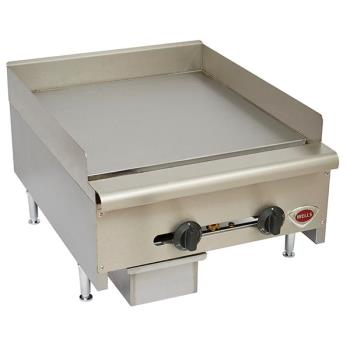 WELHDG2430G - Wells - HDG-2430G - 24 in Manual Gas Griddle Product Image
