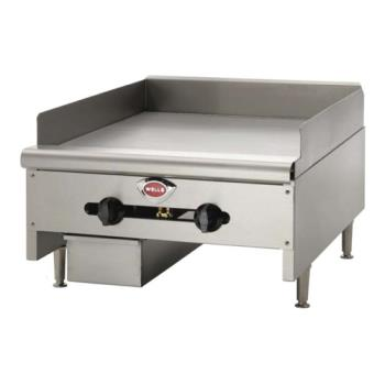 "WELHDG3630G - Wells - HDG-3630G - 36"" Manual Gas Griddle Product Image"