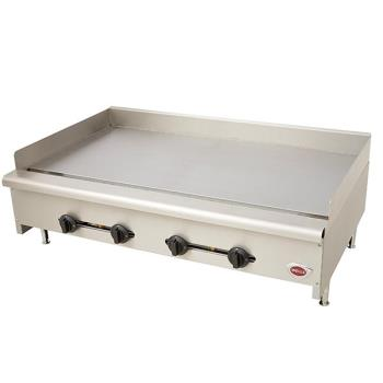 WELHDG4830G - Wells - HDG-4830G - 48 in Manual Gas Griddle Product Image