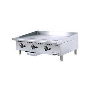 WINNGGD36M - Winco - NGGD-36M - 36 in Spectrum Gas Griddle Product Image