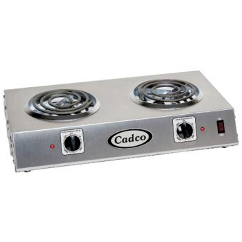 CDOCDR1T - Cadco - CDR-1T - Double Side By Side Electric Hot Plate Product Image