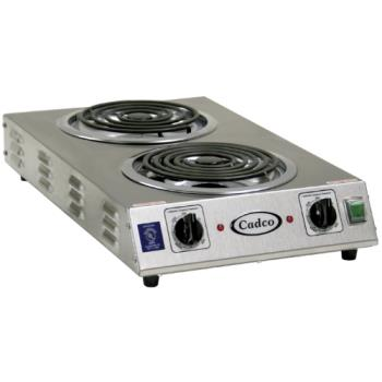 CDOCDR2TFB - Cadco - CDR-2TFB - Double Spacer Saver Hot Plate - 220V/3,000W Product Image
