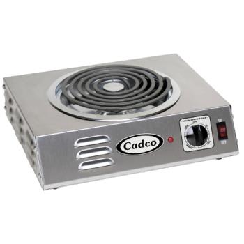 CDOCSR3T - Cadco - CSR-3T - Hi-Power Single Hot Plate - 120V/1,500W Product Image