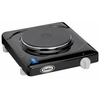 CDOKR1 - Cadco - KR-1 - Black Portable 120V Single Cast Iron Range Product Image