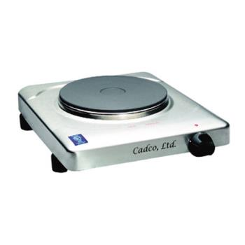 CDOKRS2 - Cadco - KR-S2 - Stainless Steel 120V Portable Single Cast Iron Range Product Image