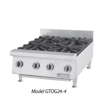 GARGTOG244 - Garland - GTOG24-4  - 24 in Heavy Duty 4 Burner Gas Hot Plate Product Image