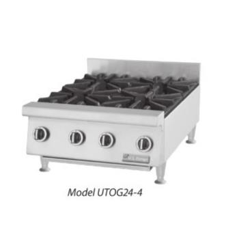 GARUTOG244 - Garland - UTOG24-4  - 24 in Heavy Duty 2 Burner Gas Hot Plate Product Image
