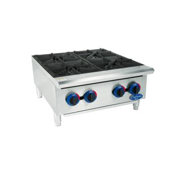 GLOC24HT - Globe - C24HT - 24 in Chefmate™ Gas Hot Plate Product Image