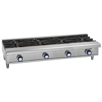 "IMPIHPA448 - Imperial - IHPA-4-48 - 48"" Hot Plate w/ 4 Burners Product Image"