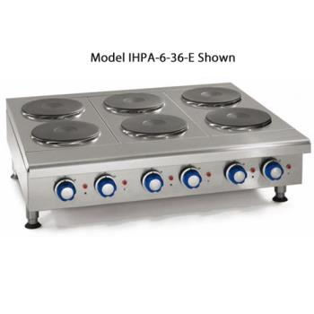 "IMPIHPA636E - Imperial - IHPA-6-36-E - 36"" Electric Hot Plate w/ 6 Burners Product Image"