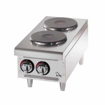 STA502FF - Star - 502FF - Star-Max® Electric 2-Burner Solid Type Hot Plate Product Image