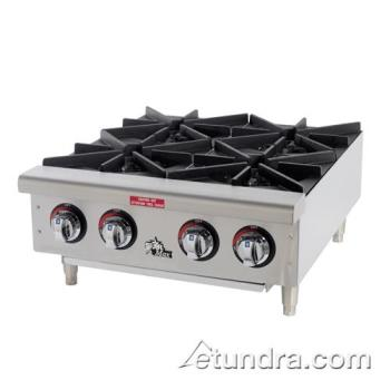 STA604HF - Star - 604HF - Star-Max® 4 Burner Gas Hot Plate Product Image