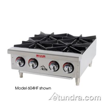 STA606HF - Star Manufacturing - 606HF - Star-Max® 6 Burner Gas Hot Plate Product Image