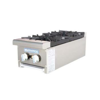 TURTAHP122 - Turbo Air - TAHP-12-2 - Radiance 12 in Open Top Hot Plate Product Image