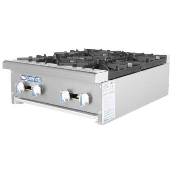 TURTAHP244 - Turbo Air - TAHP-24-4 - Radiance 24 in Open Top Hot Plate Product Image