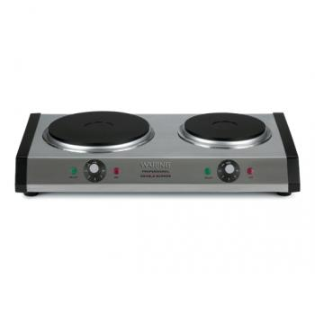 92026 - Waring - WDB600 - Double Solid Top Countertop Burner - 120V Product Image