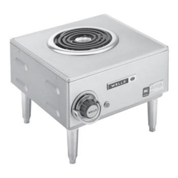 WELH33 - Wells - H-33 - Spiral Hot Plate w/ 1 Burner Product Image