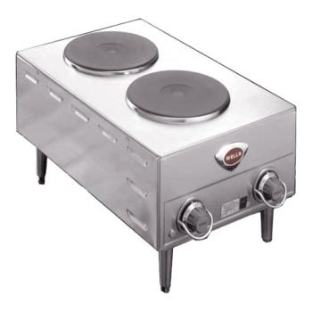 WELH70 - Wells - H-70 - French Hot Plate w/ 2 Burners Product Image