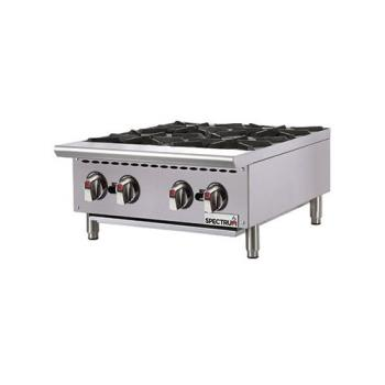 WINNGHP4 - Winco - NGHP-4 - 4 Burner Spectrum Gas Hot Plate Product Image