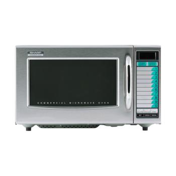 95131 - Sharp Electronics - R-21LVF - 1000 Watt Digital Commercial Microwave Oven Product Image