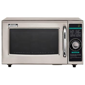 95130 - Sharp - R-21LCF - 1000 Watt Commercial Microwave Oven Product Image