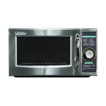 95166 - Sharp - R-21LCFS - 1000 Watt Commercial Microwave Oven Product Image