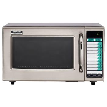 95131 - Sharp - R-21LVF - 1000 Watt Commercial Microwave Oven Product Image