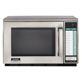95133 - Sharp - R-22GTF - 1200 Watt Commercial Microwave Oven Product Image