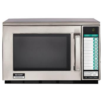 Sharp Electronics – R-22GTF – 1200 Watt Commercial Microwave Oven