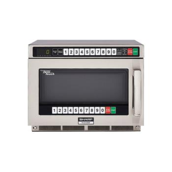 SHARCD1200M - Sharp - R-CD1200M - TwinTouch™ 1200 Watt Commercial Microwave Oven Product Image