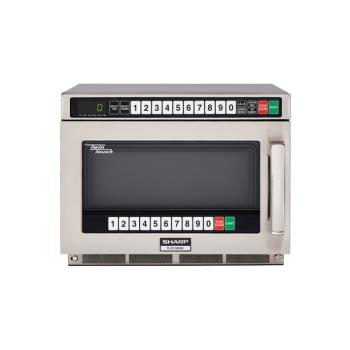 SHARCD1800M - Sharp - R-CD1800M - TwinTouch™ 1800 Watt Commercial Microwave Oven Product Image