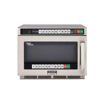 SHARCD2200M - Sharp - R-CD2200M - TwinTouch™ 2200 Watt Commercial Microwave Oven Product Image