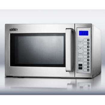 SUMSCM1000SS - Summit - SCM1000SS - Stainless Steel Microwave Oven Product Image