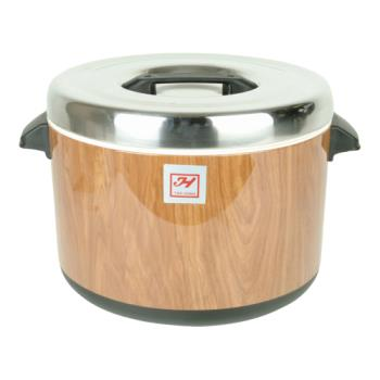 THGSEJ73000 - Thunder Group - SEJ73000 - 60 Cup Wood Grain Sushi Pot  Product Image