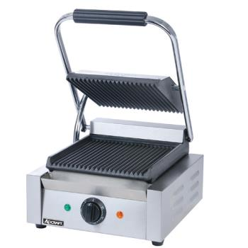 ADMSG811 - Adcraft - SG-811 - 8 in Grooved Sandwich Grill Product Image