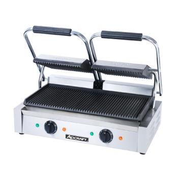 ADMSG813 - Adcraft - SG-813 - 16 inGrooved Sandwich Grill Product Image