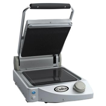 CDOCPG10 - Cadco - CPG-10 - Single Panini Grill with Ribbed Top Plate Product Image