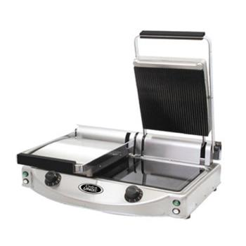 CDOCPG20 - Cadco - CPG-20 - Double Panini Grill with Ribbed Top Plate Product Image