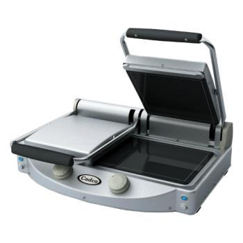 CDOCPG20F - Cadco - CPG-20F - Double Panini Grill with Smooth Plates Product Image