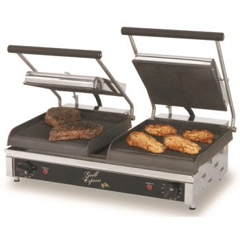 "STAGX20IG - Star - GX20IG - Grill Express™ 20"" Grooved Sandwich Grill Product Image"