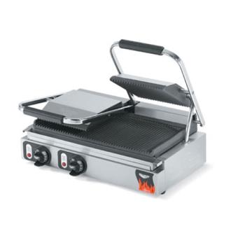 VOL40795 - Vollrath - 40795 - Cayenne® Double Cast Iron Panini Grill Product Image