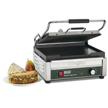 WARWDG250 - Waring - WDG250 - Double Panini Grill w/ Top Ribbed Plate Product Image