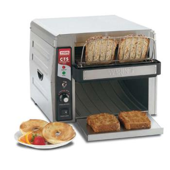 WARCTS1000 - Waring - CTS1000 - Electric Countertop Conveyor Toaster - 450 Slices/Hour Product Image