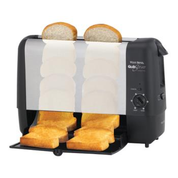 West Bend 78222 Stainless Steel Quikserve 174 Toaster