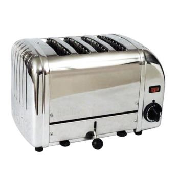 CDOCTS4 - Cadco - CTS-4 - Mica 4 Slot Stainless Steel Heavy Duty Toaster Product Image
