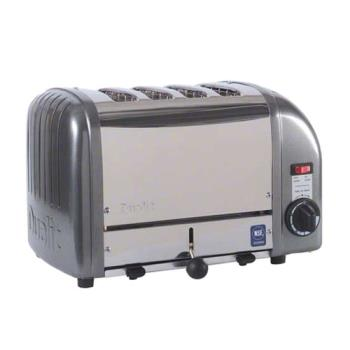 CDOCTW4M - Cadco - CTW-4M - Mica 4 Slot Heavy Duty Toaster Product Image