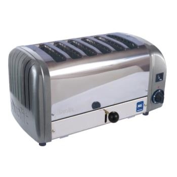 CDOCTW6M - Cadco - CTW-6M - 6 Slot Heavy Duty Toaster Product Image