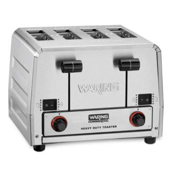92011 - Waring - WCT850RC - Heavy Duty 120V Switchable Bread/Bagel Toaster Product Image