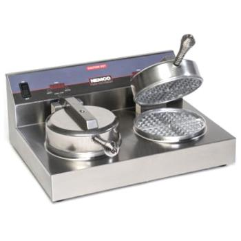 NEM70002S - Nemco - 7000A-2S - Dual Waffle Baker with SilverStone Plates Product Image