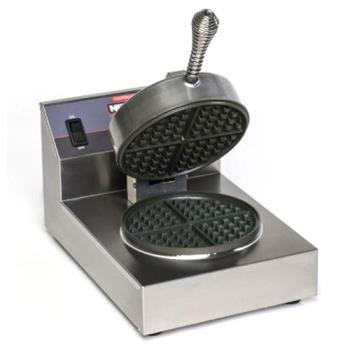 NEM7000S - Nemco - 7000A-S - Single Belgian Waffle Baker with Silverstone Plates Product Image